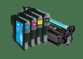 Tusze i tonery środki barwiące do drukarek